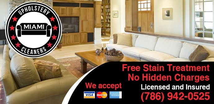 Upholstery Cleaning Miami | Free Stain Removal (786)942 0525
